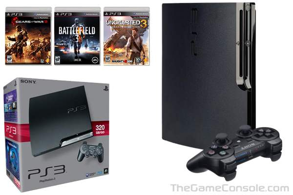 Thegameconsole Com Sony Playstation 3 Slim Game Console